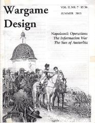 "Vol. 2, #7 ""Napoleonic Operations, The information War, The Sun of Austerlitz"""