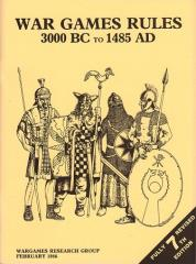 War Games Rules 3000 BC to 1485 AD (7th Edition, Revised)