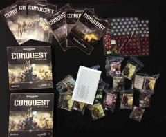 Conquest Card Game Collection #4 - 3 Base Games!