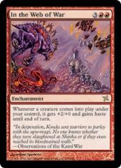 In the Web of War (R) (Foil)