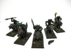 Goblin Wolf Riders w/Musician Collection #1