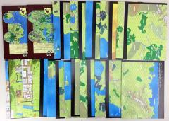 Wilderlands Map Collection - 2 Guidebooks & 25 Maps!