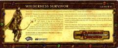 Player Rewards Card 2 - Wilderness Survivor