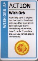 Adventure Time Fluxx Promo Card - Wish Orb