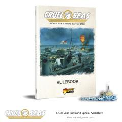 Cruel Seas Rulebook w/Das Boot Special Miniature