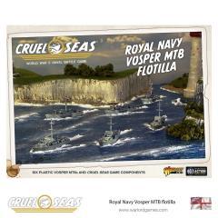Cruel Seas - Royal Navy Vosper MTB Flotilla