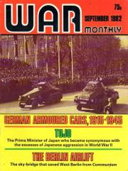 "#104 ""German Armoured Cars, 1915-1945, Tojo, The Berlin Airlift?"