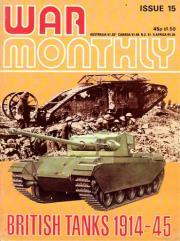 """#15 """"British Tanks 1914-45, P38 Lightning, Kiev 1941"""""""