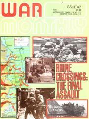 "#42 ""Rhine Crossings 1945, Amphibious Ships, Solo to Berlin"""