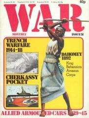 "#51 ""Trench Warfare 1914-18, Dahomey 1892, Cherkassy Pocket"""