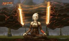 Playmat - Worldwake, Stoneforge Mystic