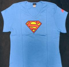 Woman's Superman Symbol T-Shirt (L)