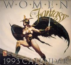 Women of Fantasy 1993 Calendar