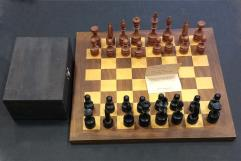 Chess - Wood Board w/Classic Style Wooden Pieces #2