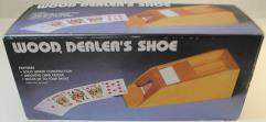 Wooden 4-Deck Dealer's Shoe