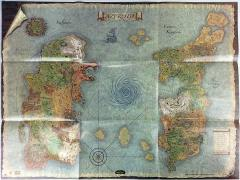 World of Warcraft Poster Map