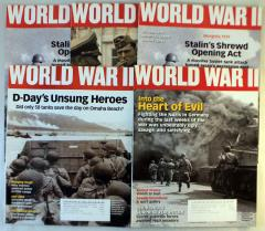 World War II Magazine Collection - 5 Issues!