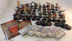 World of Warcraft Miniatures Collection - 60 Figures!