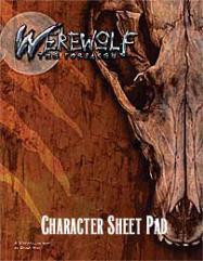 Character Sheet Pad