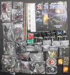 X-Wing Miniatures Collection #9 - 2 Base Games + 8 Additional Ships!