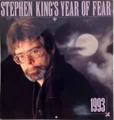 "1993 Stephen King ""Year of Fear"" Calendar"