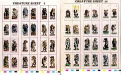 Zargonian Creatures Collection - 5 Sheets