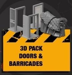 3D Door & Barricade Pack