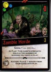 Zombie Horde Promo Pack