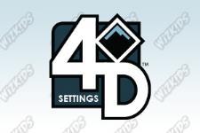 4D Settings