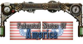 Dystopian Wars - Federated States of America (1:600)