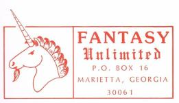 Fantasy Role Playing Supplements (Fantasy Unlimited)