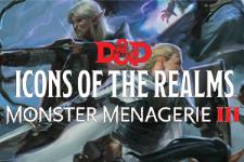 D&D Miniatures - Icons of the Realms - Monster Menagerie III - Singles