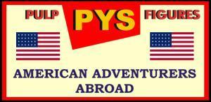American Adventurers Abroad - Loose Minaitures (28mm)