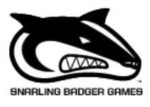 Board Games (Snarling Badger Games)