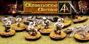 Hordes of the Future - Miniatures - Muster Troops (15mm)
