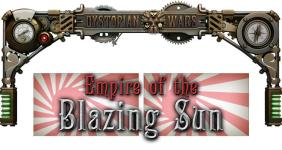 Dystopian Wars - Empire of the Blazing Sun - Loose Miniatures (1:600)