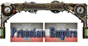 Dystopian Wars - Prussian Empire (1:600)