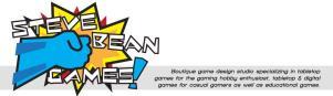Miniatures Games Rules (Steve Bean Games!)