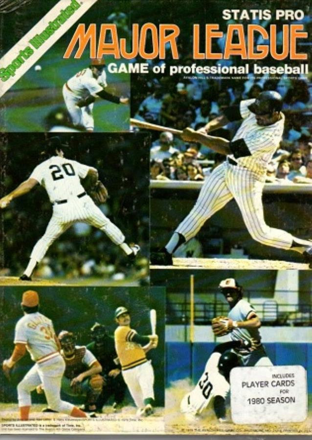 Statis Pro Baseball 1980 Edition Noble Knight Games