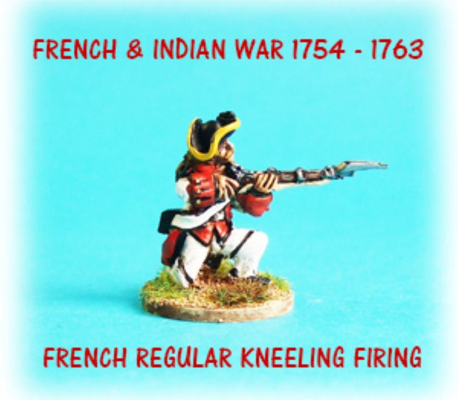 French Regular Kneeling Firing