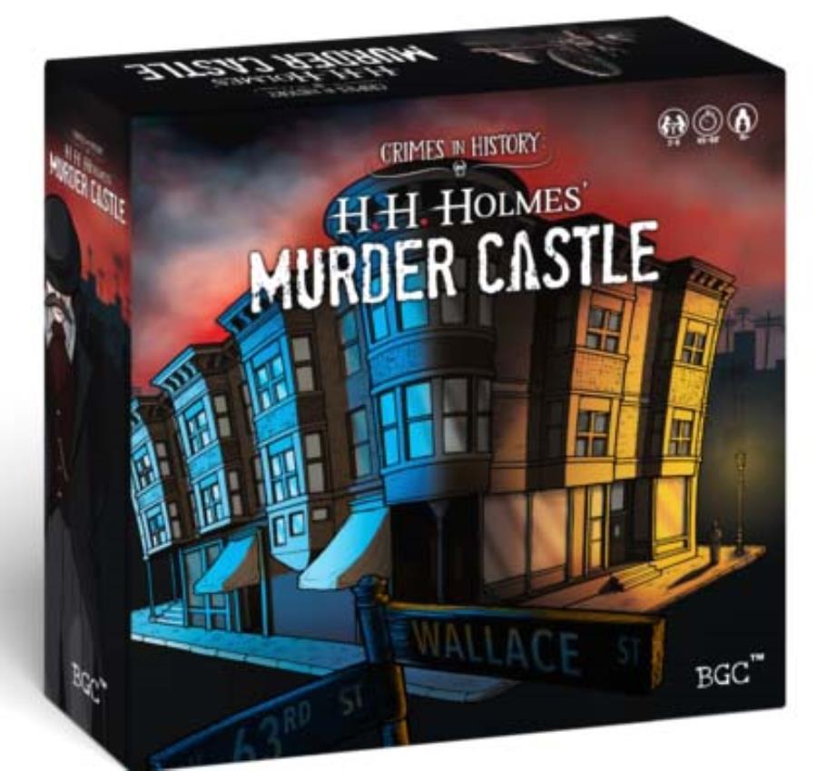 Crimes In History H H Holmes Murder Castle Kickstarter