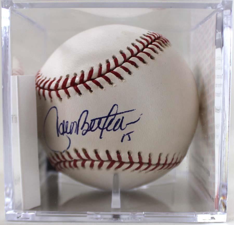 Carlos Beltran Autographed Baseball Autographed Baseball