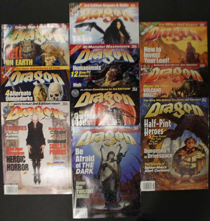 Dragon Magazine Collection - Issues #261-270