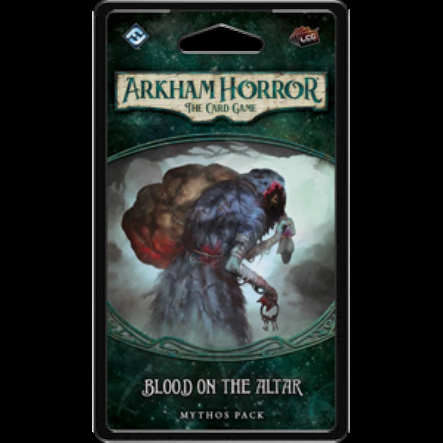 FFGAHC05 Fantasy Flight Arkham Horror LCG Blood On the Altar Mythos Pack