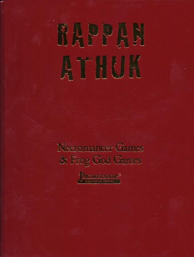 Rappan Athuk W Pdf Limited Leather Bound Edition Pathfinder Rappan Athuk Pf Noble Knight Games