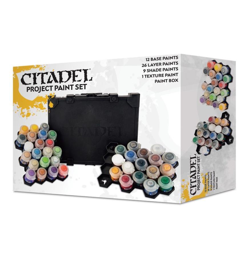Citadel Project Paint Set (2018 Edition) - Citadel Paint Set - Noble
