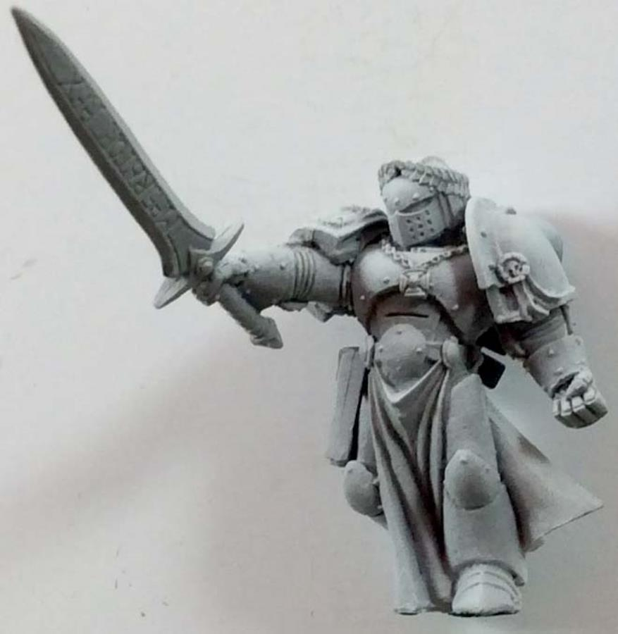 Emperor's Champion, The #1 - 40k SM Black Templasr Plastic