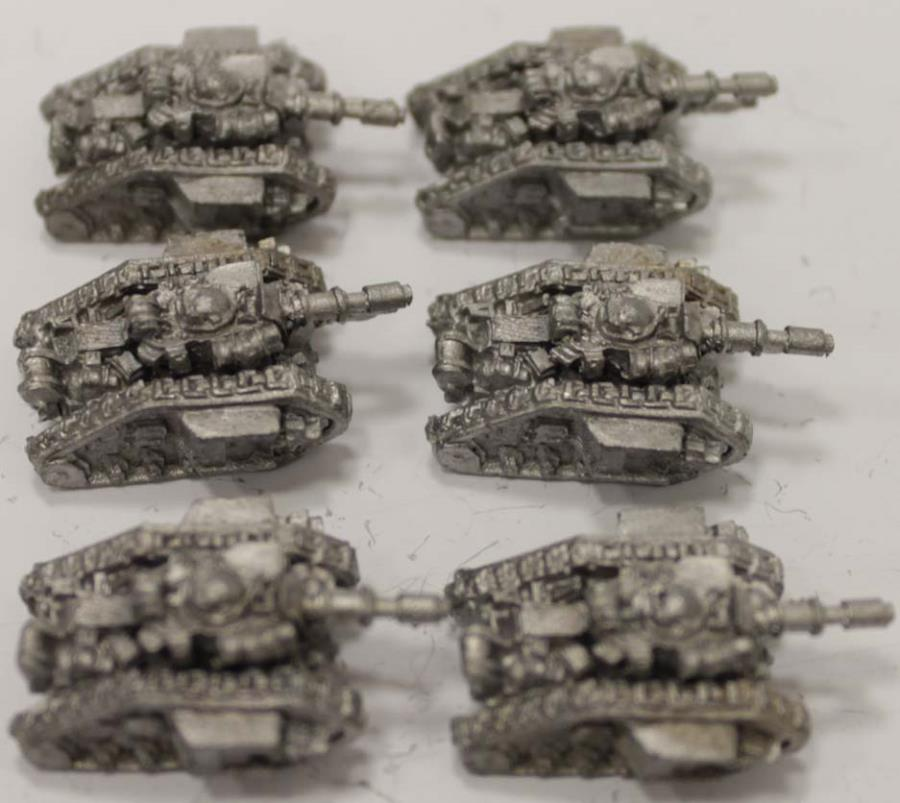 Leman Russ Collection #1 - Epic 40k Imperial Guard Metal