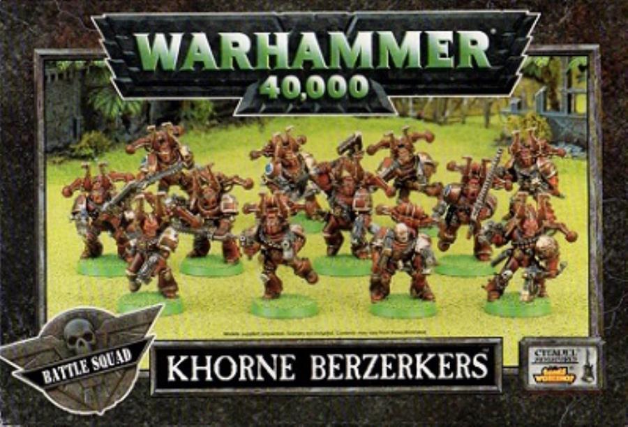Khorne Berserkers (1998 Edition) - 40k Chaos Space Marines - Noble ...