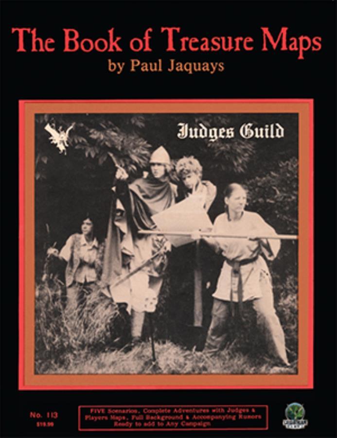 Book of Treasure Maps, The - Judges Guild AD&D - Noble